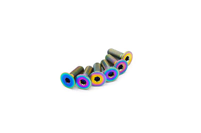 True Burned (Multi-Color) Titanium Steering Wheel Bolt Kit (ACC-003)