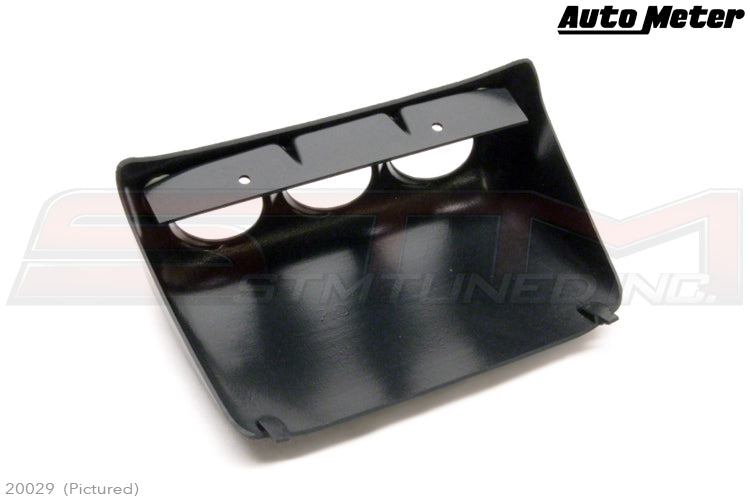 Autometer am20029 for Evo 52mm Triple Lower Console Pod