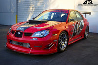 APR Carbon Fiber Front Wind Splitter with Rods - 06-07 WRX/STi