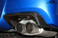 APR Carbon Fiber Exhaust/Bumper Heatshield - 11-14 WRX/STi Sedan