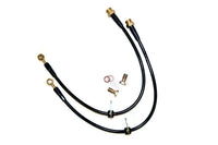 Agency Power Rear Steel Braided Brake Lines for Evo X