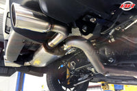 Buschur Racing Cat-Back Exhaust Cross Flow - Evo X