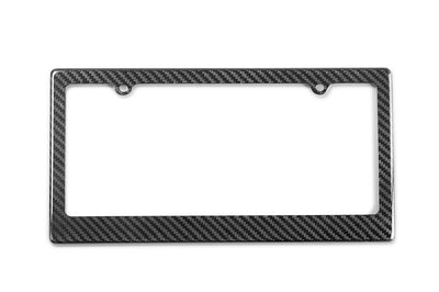 CFLPF Seibon Carbon Fiber License Plate Frame 2-Bolt Mount