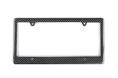 CFLPF4 Seibon Carbon Fiber License Plate Frame with 4-Bolt Mount