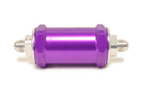 Purple FUELAB 818 Series Fuel Filter