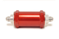 Red FUELAB 818 Series Fuel Filter