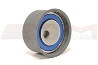 Mitsubishi OEM Timing Belt Tensioner Pulley for 2G DSM Image © STM Tuned Inc.  Part Number MD182537