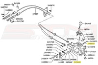 Mitsubishi Evo 4 5 6 7 8 9 Shifter Diagram