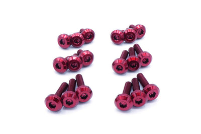 Evo 8/9 Red Titanium Valve Cover Bolt Kit