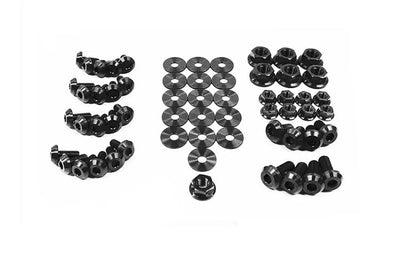 Black Titanium Engine Bolt Kit for Evo X (MIT-009)