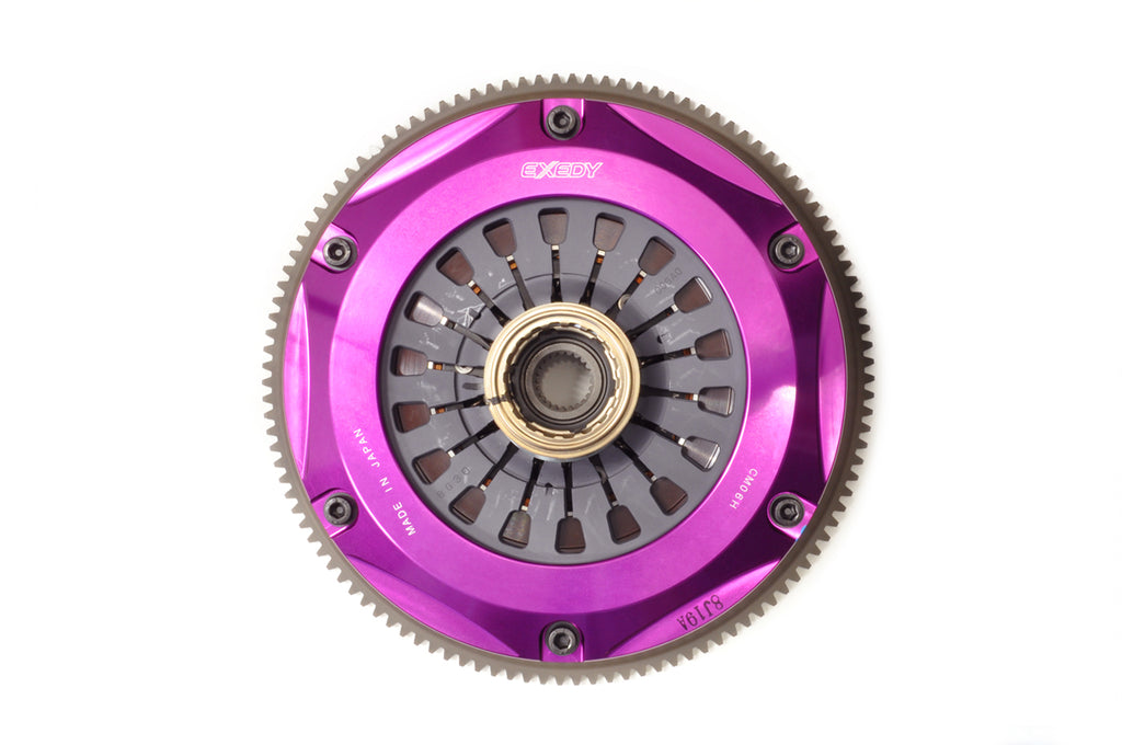 EXEDY Twin Cerametallic Clutch Kit for Evolution X MM062HD MM062SD