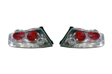 Mitsubishi OEM Taillights for Evo 8 (Clear USDM Style)