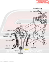 MN183892 Mitsubishi Timing Chain Guide (Loose Side) - Evo X