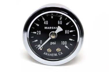 Marshall Instruments 0-100 Liquid-Filled Fuel Pressure Gauge
