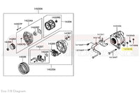 Mitsubishi Evo 7 8 Alternator Diagram