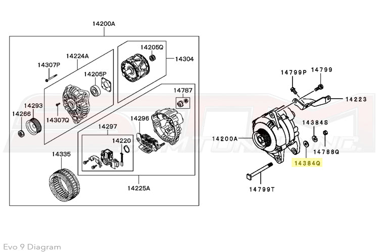 Mitsubishi S4l2 Alternator Wiring Diagram. . Wiring Diagram