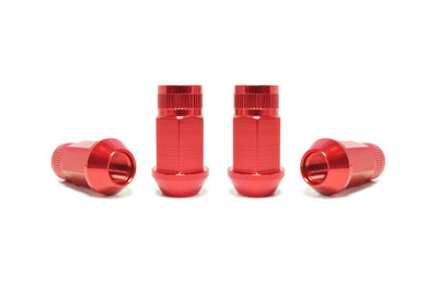 NRG Aluminum Lug Nuts M12x1.25 Red Set of 4 (LN-110RD)