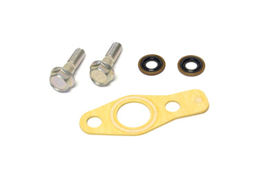 Mitsubishi Oil Return Line to Oil Pan Bolt & Gasket Kit for 4G63 DSM/Evo