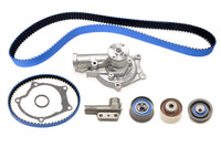 STM 1G 6-Bolt 6-Bolt DSM Timing Belt Kit with Blue Gates Racing Belts with Water Pump and Balance Shaft