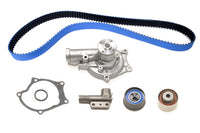 STM 1G 6-Bolt DSM Timing Belt Kit with Blue Gates Racing Belts with Water Pump and NO Balance Shaft