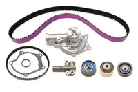 STM 1G 7-Bolt DSM Timing Belt Kit with Purple HKS Belts with Water Pump and Balance Shaft