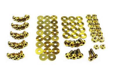 Gold Titanium Full Engine Bay Bolt Kit for BRZ/FRS (SUB-007)
