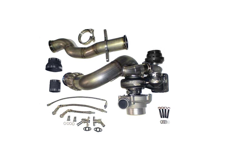 ATP GTX3076R GEN2 Turbo Kit for Evolution 6.5/7/8/9 with Black TiAL