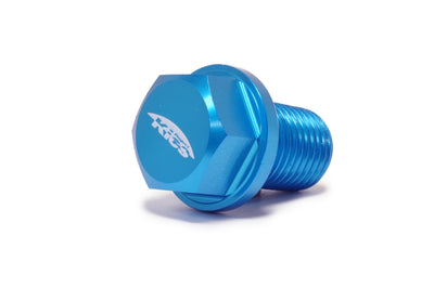 Project Kics Magnetic Oil Drain Plug Blue M14 x 1.5 (WMAG2)