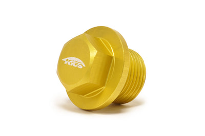 Project Kics Magnetic Oil Drain Plug Yellow M20 x 1.5 (WMAG3)