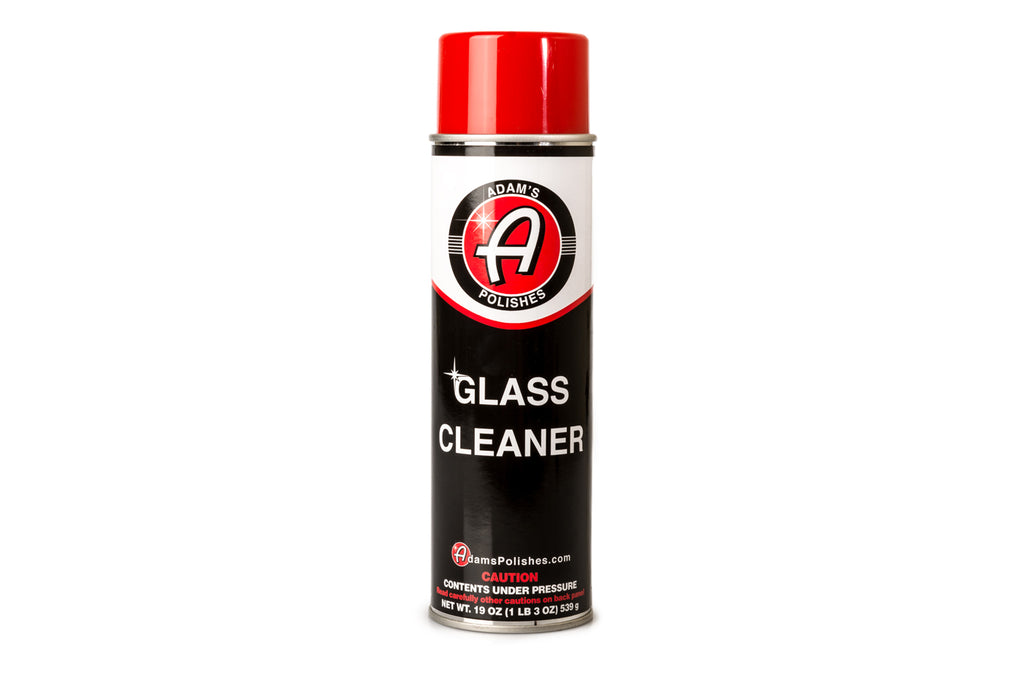 Adam's Aerosol Glass Cleaner (19oz)