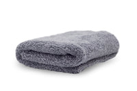 Adam's Borderless Edgeless Grey Microfiber Towel