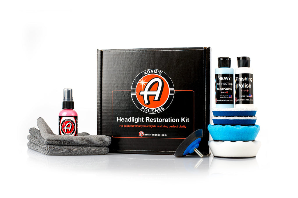 Adam's Headlight Restoration Kit