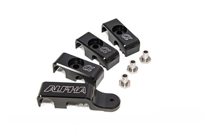 AMS Alpha Performance R35 GTR Fuel Line Clamp System