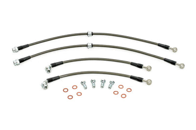 AMS Evo 4-9 Stainless Steel Brake Lines