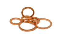 Copper Crush Washers for Banjo Bolts