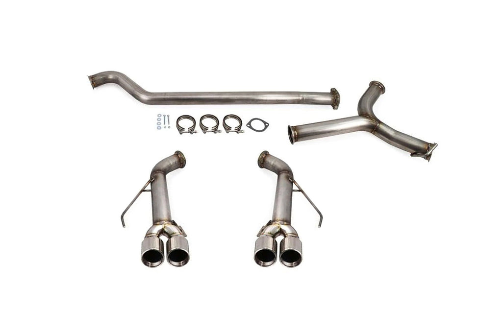 ETS Catback Exhaust for 2015+ WRX/STI with Polished Tips