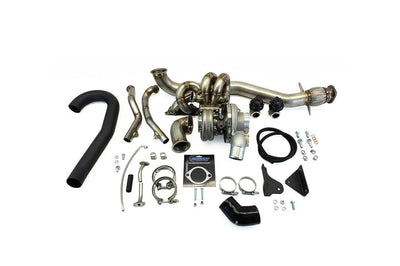 ETS Standard Placement T4 Twin Scroll Turbo Kit for Evo 8/9
