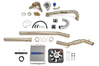 Evo 7 8 9 Turbo Kit with radiator and exhaust