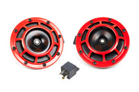 Hella Twin Supertone Horns Red (003399801)