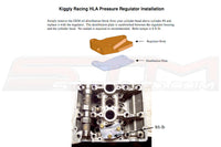 Kiggly Racing 4G63 HLA Pressure Regulator (HLA_UNIV)