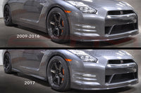 Nissan Side Skirts (2017) - R35 GT-R