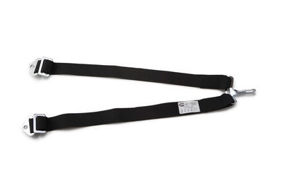 RaceQuip 5 to 6-Point Conversion Belts Black (719001)