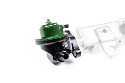 Radium Green DMR Direct Mount Fuel Pressure Regulator (for 2-Bolt Rail)