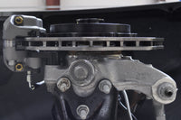 RS3 Drag Brake Kit with Scalloped Rotor Installed