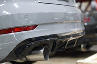 RS3 Full 3.5 Inch Titanium Exhaust Installed