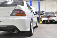 STM Evo Exhaust Installed JDM IX Rear Bumper