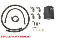 Evo 8 9 Catch Can Single Port Includes