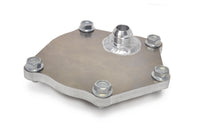 Water Pump Block Off Plate with AN Bung