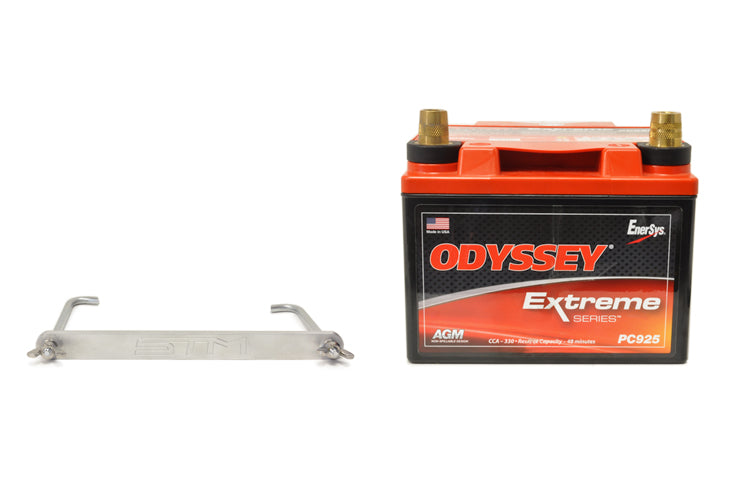 Evo X Battery Kit PC925 Brushed Aluminum Tie