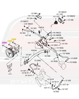 Water Pump Diagram for Evo X